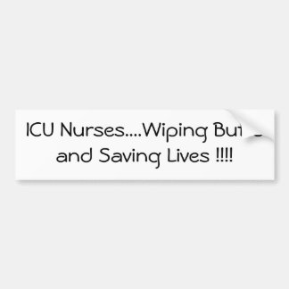 ICU Nurses Creed Bumper Sticker
