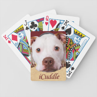iCuddle Pitbull Bicycle Playing Cards