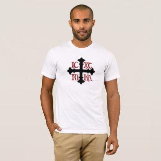 ICXC NIKA T-Shirt in White 100% Cotton