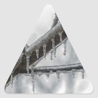 Icy Branch Triangle Sticker