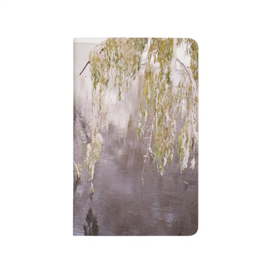 Icy Branches Winter Pond Lake Rustic Winter Scene Journals