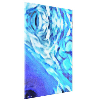 Icy Canvas Print