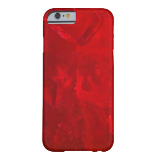 Icy Crimson Red iPhone 6 Case