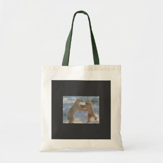 Icy Dancing Bears Budget Tote