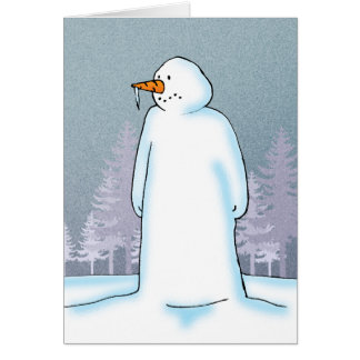 Icy Greeting Card