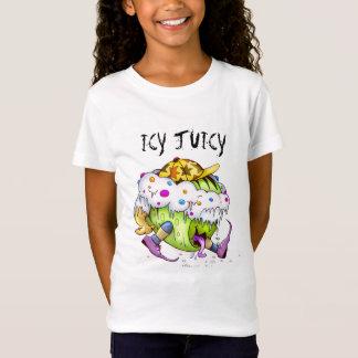 ICY JUICY CUTE MONSTER ALIEN  Babydoll T-Shirt
