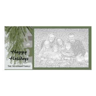 Icy Pines Happy Holidays Card