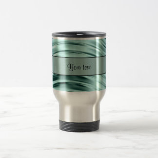 Icy Waves Travel Mug