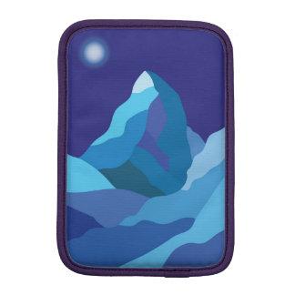 Icy winter Matterhorn mountain iPad Mini Sleeve