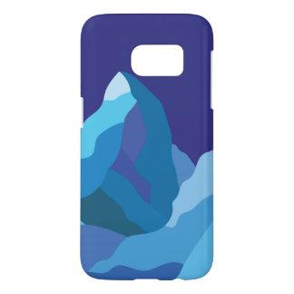 Icy winter Matterhorn mountain Samsung Galaxy S7 Case
