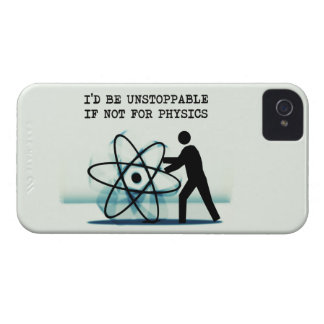 I'd be unstoppable if not for physics Case-Mate iPhone 4 cases