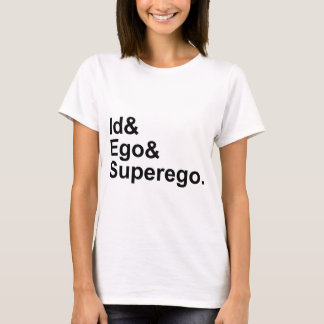 Id Ego Superego | Three Parts of the Psyche T-Shirt