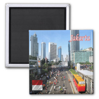 ID - Indonesia - Jakarta Car Free Day Magnet