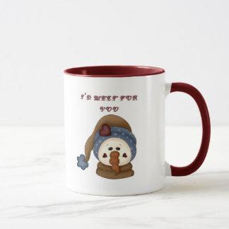 I'd Melt for You Snowman Mug