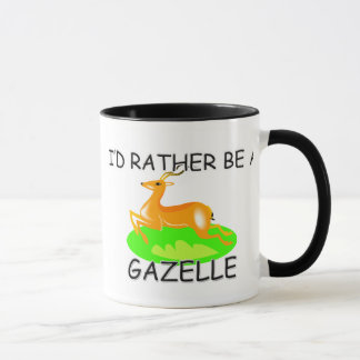 I'd Rather Be A Gazelle Mug