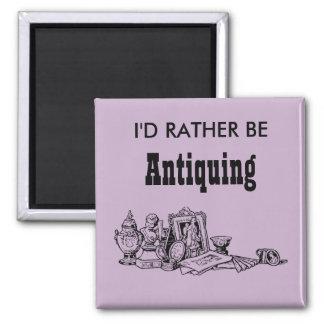 I'd Rather Be Antiquing Magnet