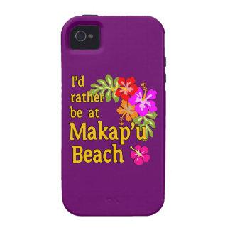I'd Rather be at Makap'u Beach, Hawaii iPhone 4/4S Cases