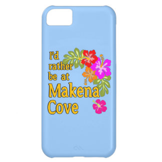 I'd Rather be at Makena Cove Hawaii iPhone 5C Cover