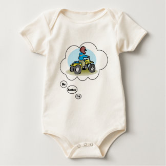 I'd rather be ATV Riding 4 Baby Bodysuit