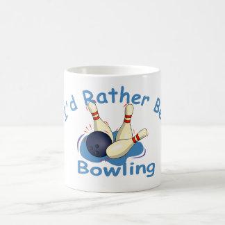 I'd Rather Be Bowling Mug
