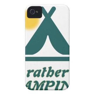 I'd rather be CAMPING iPhone 4 Case-Mate Case