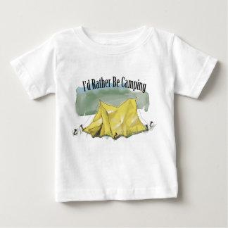 I'd Rather Be Camping Toddler T-Shirt