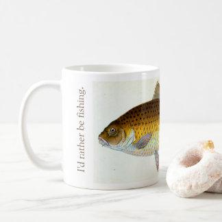 I'd rather be carp fishing Mug