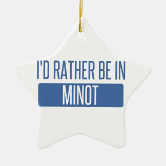 I'd rather be ceramic ornament