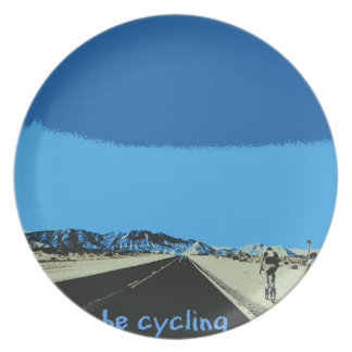 id rather be cycling plate