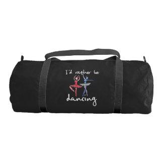 I'd rather be dancing gym bag