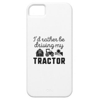 I'd Rather Be Driving My Tractor iPhone 5 Cover