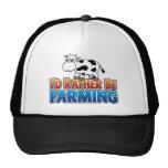 I'd Rather be Farming! (Virtual Farming) Trucker Hat