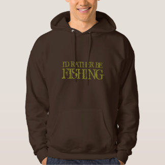 I'd rather be fishing hoodie for men | Camo colors