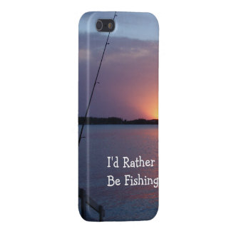 I'd Rather Be Fishing! iPhone 5/5S Cover