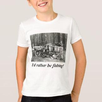 I'd Rather Be Fishing! Tshirt