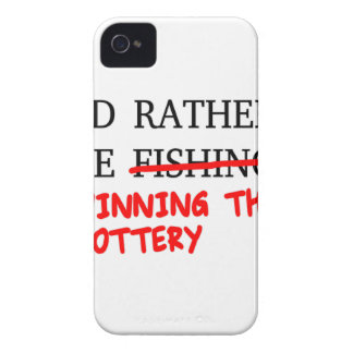 I'd Rather Be Fishing... Winning The Lottery iPhone 4 Case