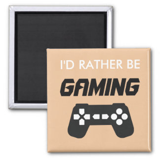 I'd Rather Be Gaming Magnet