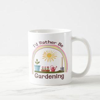 I'd Rather Be Gardening Basic Mug