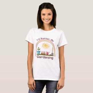 I'd Rather Be Gardening Women's Shirt