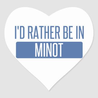I'd rather be heart sticker