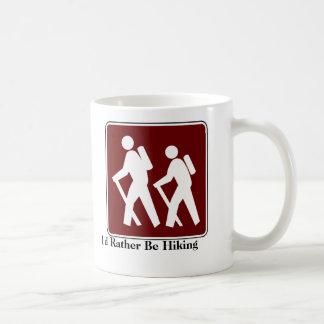 I'd Rather Be Hiking Coffee Mug