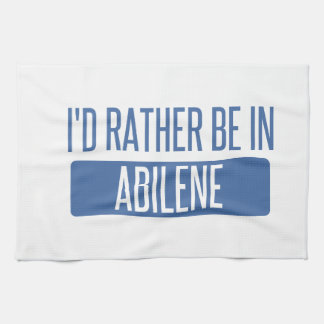 I'd rather be in Abilene Hand Towels