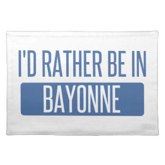 I'd rather be in Bayonne Place Mats
