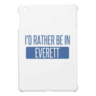 I'd rather be in Everett MA iPad Mini Case