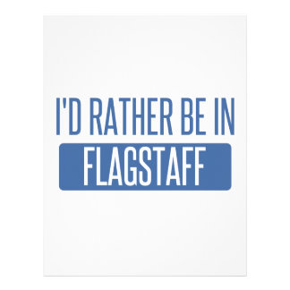 I'd rather be in Flagstaff Personalized Letterhead