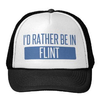 I'd rather be in Flint Trucker Hat