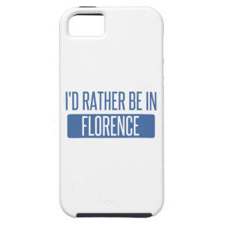 I'd rather be in Florence iPhone 5 Case