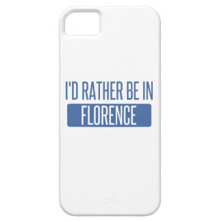 I'd rather be in Florence iPhone 5 Cover