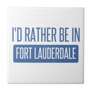 I'd rather be in Fort Lauderdale Tile