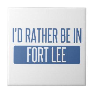 I'd rather be in Fort Lee Tile